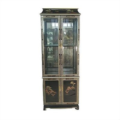 Contemporary china cabinet wayfair - Elegant contemporary curio cabinets furniture ...