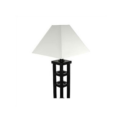 Oriental Furniture Tall Mosko Floor Lamp
