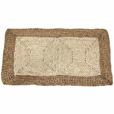 Rush Grass and Maize Two Tone Dark Rug