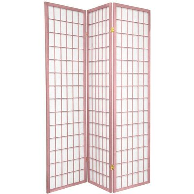 Oriental Furniture Window Pane in Pink