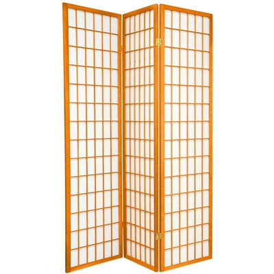 Oriental Furniture Window Pane in Orange