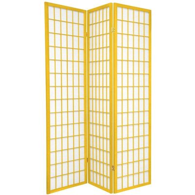 Oriental Furniture Window Pane in Mustard