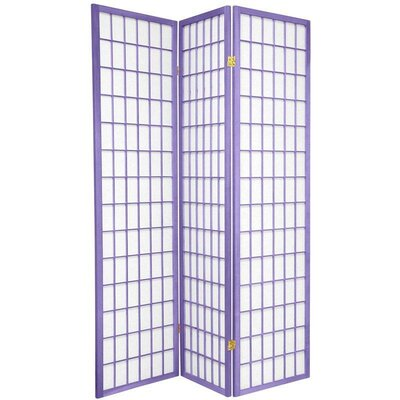 Oriental Furniture Window Pane in Lavender