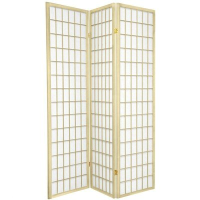 Oriental Furniture Window Pane in Ivory
