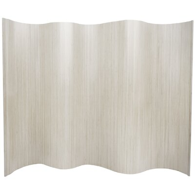 Oriental Furniture Tall Bamboo Wave Screen