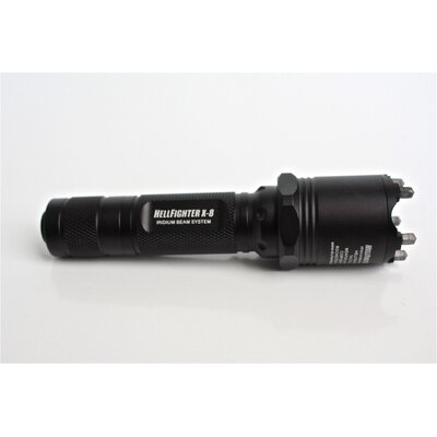 StormLighter X-8 LED Aggressor Light with Glass Breaker Bezel
