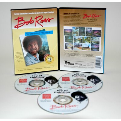 Weber Art ROSS DVD JOY OF PAINTING SERIES 6. FEATURING 13 SHOWS