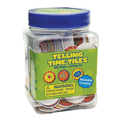 Eureka! Tub Of Telling Time Chips