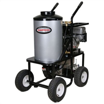 King-Brute 3,000 PSI Gas Powered Hot Water Pressure Washer
