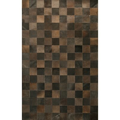Bashian Rugs Cow Hide Chocolate Rug