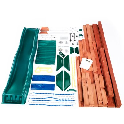 Swing-n-Slide McKinley Wood Complete Play Set