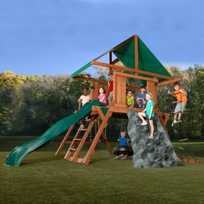 Swing-n-Slide Neptune Redwood Premier Play Set