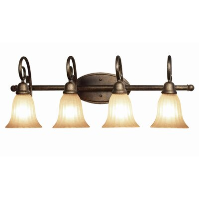 Woodbridge Lighting Clifton 4 Light Bath Vanity Light