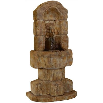 Henri Studio Wall Cast Stone Granada Lavabo Fountain