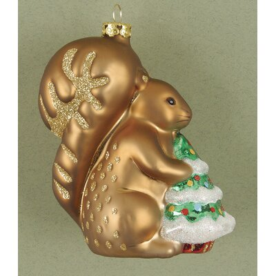 Cobane Studio LLC Fox Squirrel Ornament