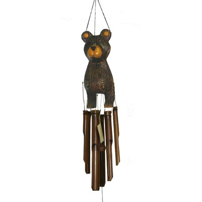 Cohasset Imports Barry Bear Wind Chime