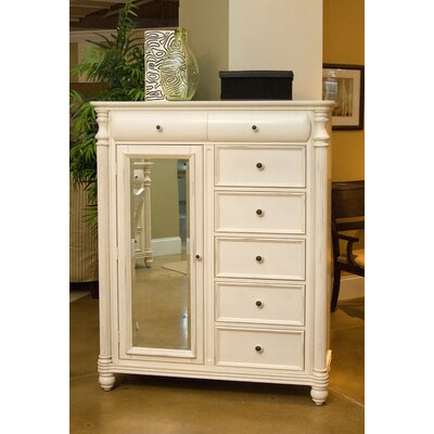 Eastport 6 Drawer Gentleman's Chest