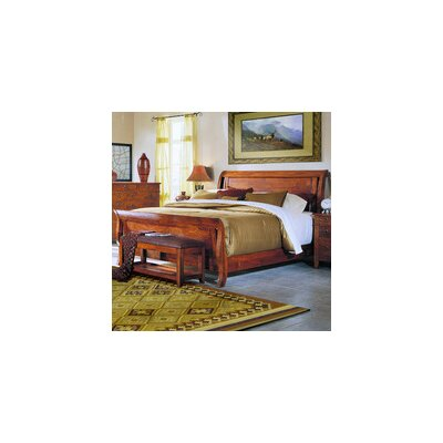 Klaussner Furniture Urban Craftsmen Sleigh Bed