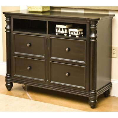 Klaussner Furniture Westport 4 Drawer Media Chest