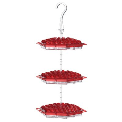 Love My Birds 3 Tier Hum Sweet Hummingbird Feeder