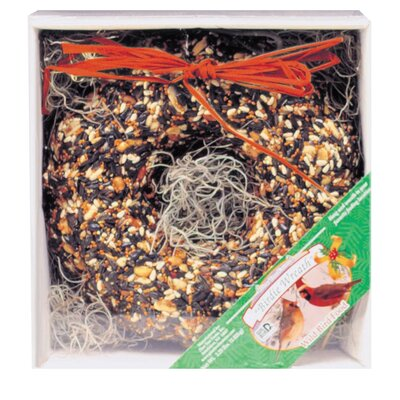 Pine Tree Farms Hanging Birdie Wreath Wild Bird Food