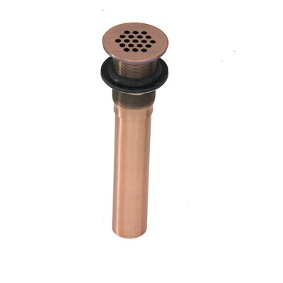 Thompson Traders Grid Strainer Bathroom Sink Drain