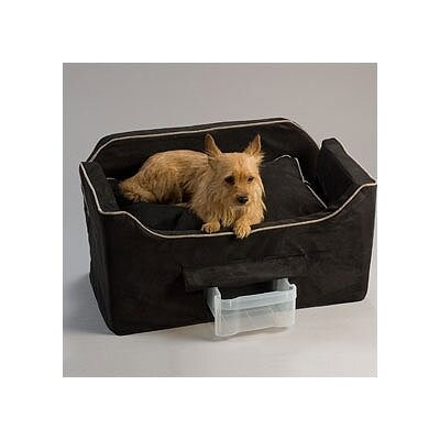 Snoozer Pet Products The Luxury Pet Car Seat in Microsuede