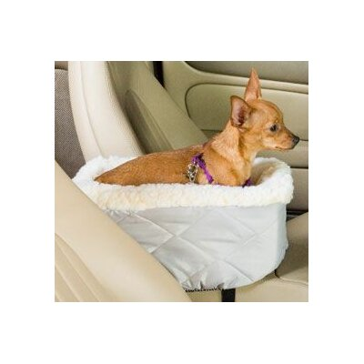 Snoozer Pet Products Lookout Large Console Pet Car Seat in Pink