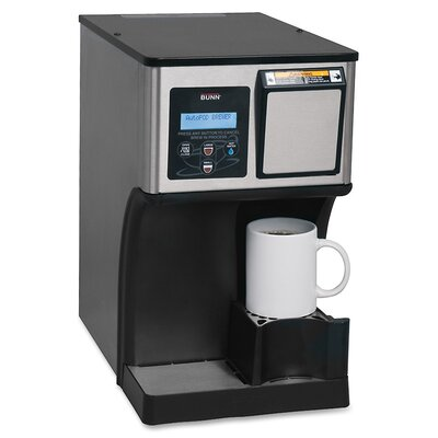 Auto-Eject Coffee Pod Brewer