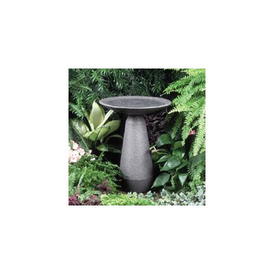Akro Mils Neo Classic Black Granite Bird Bath