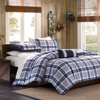 Mi-Zone Elliot Plaid Comforter Set