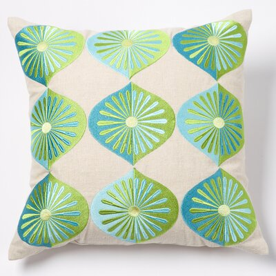 emma at home by Emma Gardner Sea Many Fans Pillow