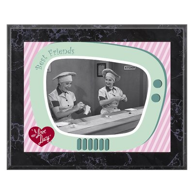 "Mounted Memories I Love Lucy ""Chocolate Factory"" Plaque - 10.5"" X 13"""