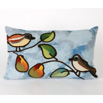 Song Birds Rectangle Indoor/Outdoor Pillow