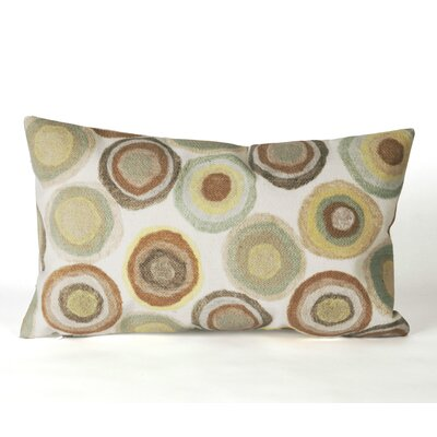 Liora Manne Puddle Dot Rectangle Indoor/Outdoor Pillow