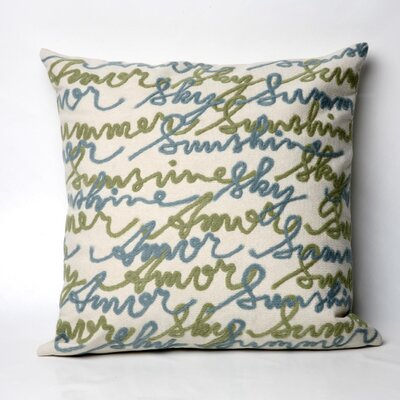 Liora Manne Amour Square Indoor/Outdoor Pillow