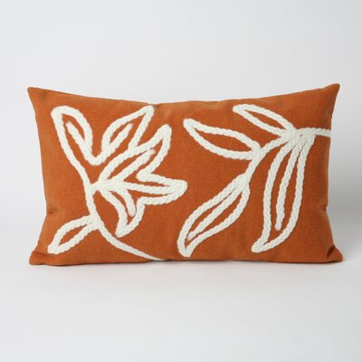 Liora Manne Windsor Rectangle Indoor/Outdoor Pillow in Orange