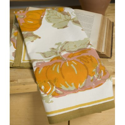 Couleur Nature Pumpkin Orange Yellow Tea Towel (Set of 3)
