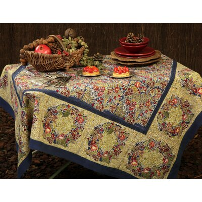 Couleur Nature Winter Garden Wreath Tablecloth