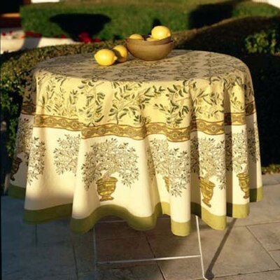 Couleur Nature Olive Tree Tablecloth