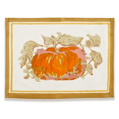 Couleur Nature Pumpkin Placemat (Set of 6)