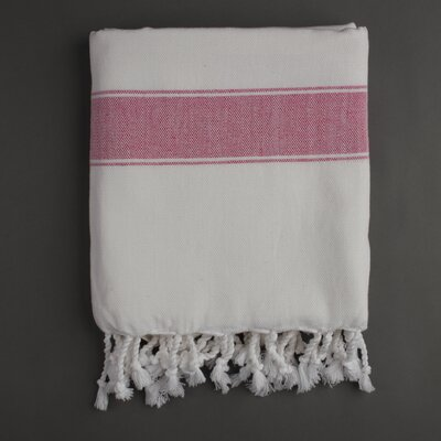 Nine Space Ayrika Natural Cotton Fouta Towel in Pink