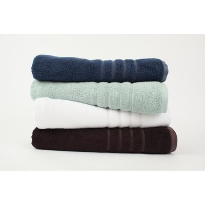 Nine Space Bamboo 3 Piece Lavish Towel Set in Light Blue