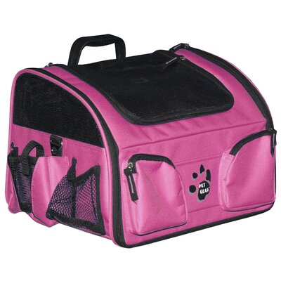 Ultimate Traveler 3-in-1 Pet Carrier in Pink
