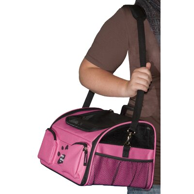 Pet Gear Bike Basket 3-in-1 Pet Carrier in Pink