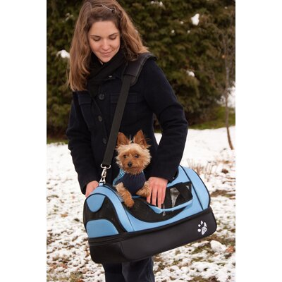 Pet Gear Aviator Bag Pet Carrier in Caribbean Blue