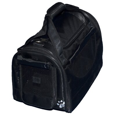 Pet Gear World Traveler Tote Bag Pet Carrier in Black Diamond