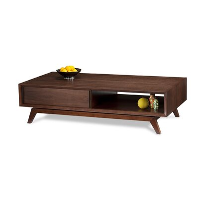 BDI Eras Coffee Table with Sliding Doors
