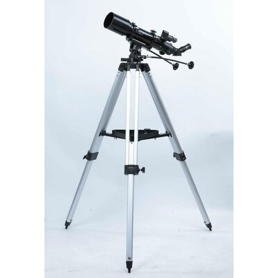 6x30 Refractor Telescope in Black