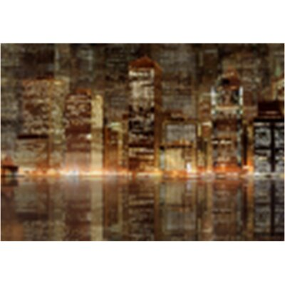 City at Nights Canvas Art